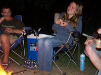 Nicole and her smore :)