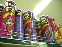 Yum! Wilde Consomme and Funky Soy Sauce pringles!