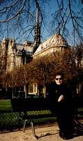 Me in front of Notre Dame