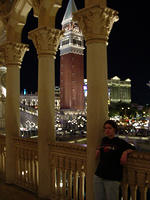 Nice view from the Venetian.